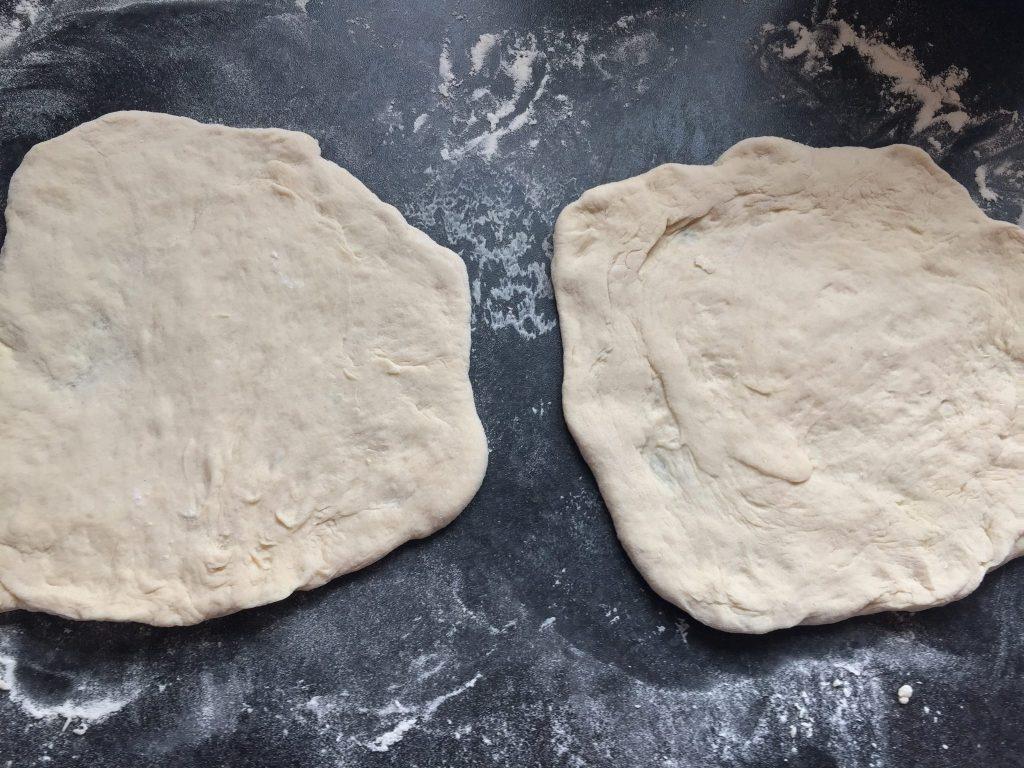 homemade pizza bases