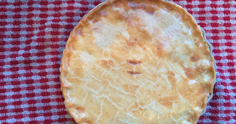 Homemade Chicken and Leek Pie Recipe