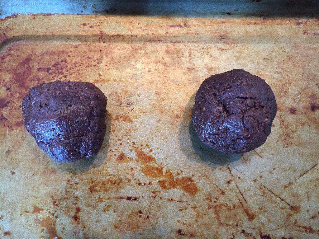 mini egg cookie balls