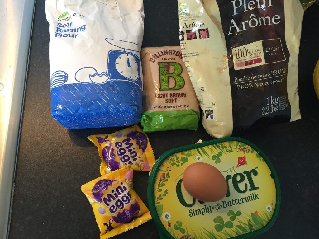 mini egg cookie ingredients