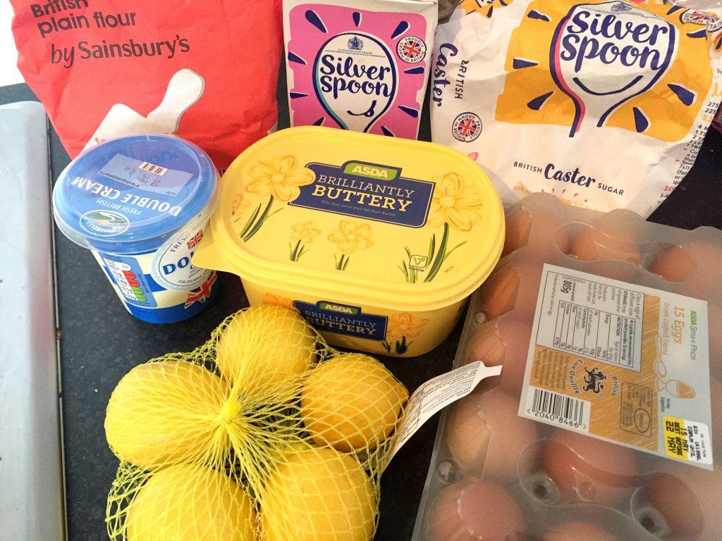 lemon tart ingredients
